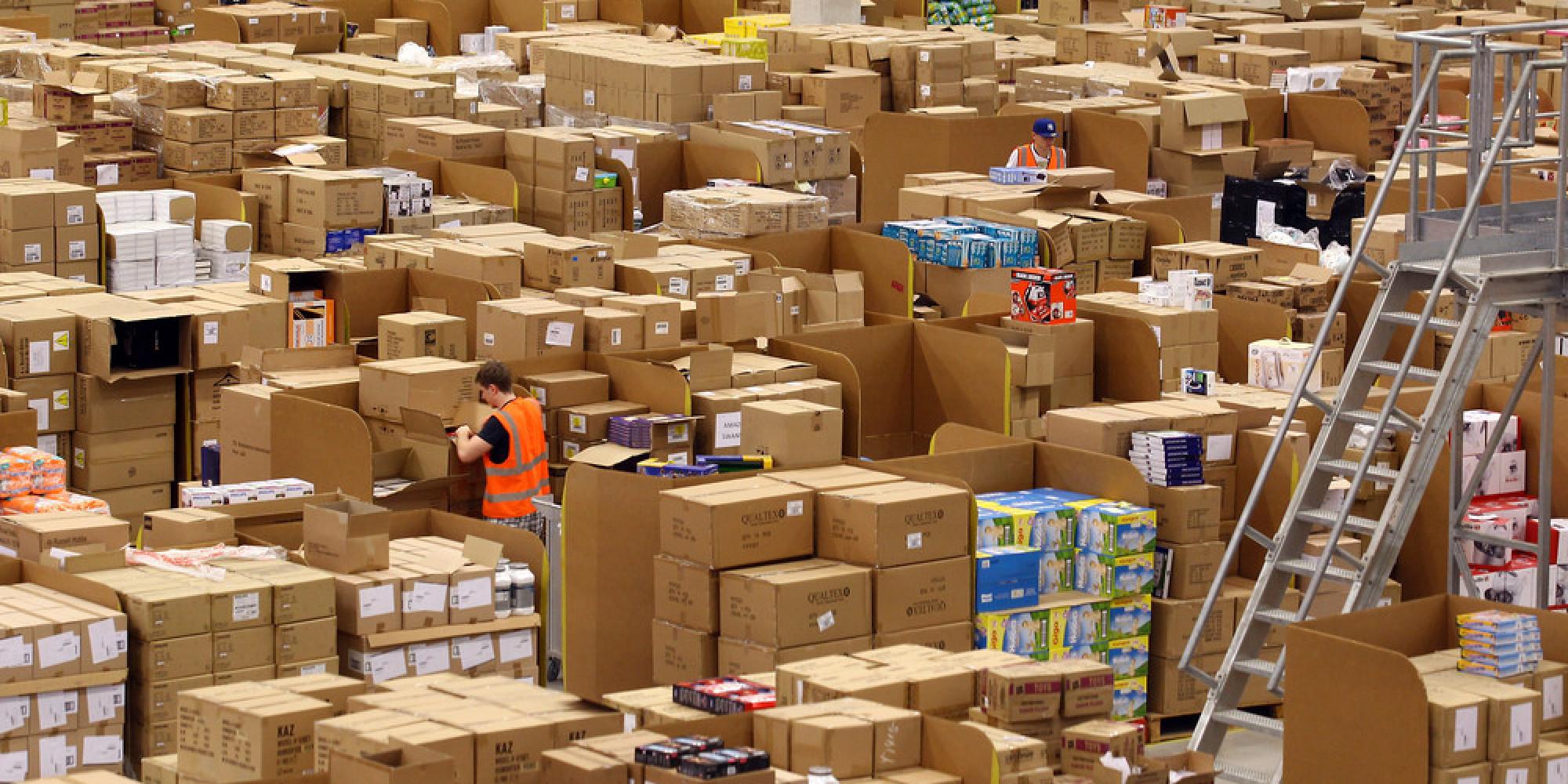 Overstocked warehouse